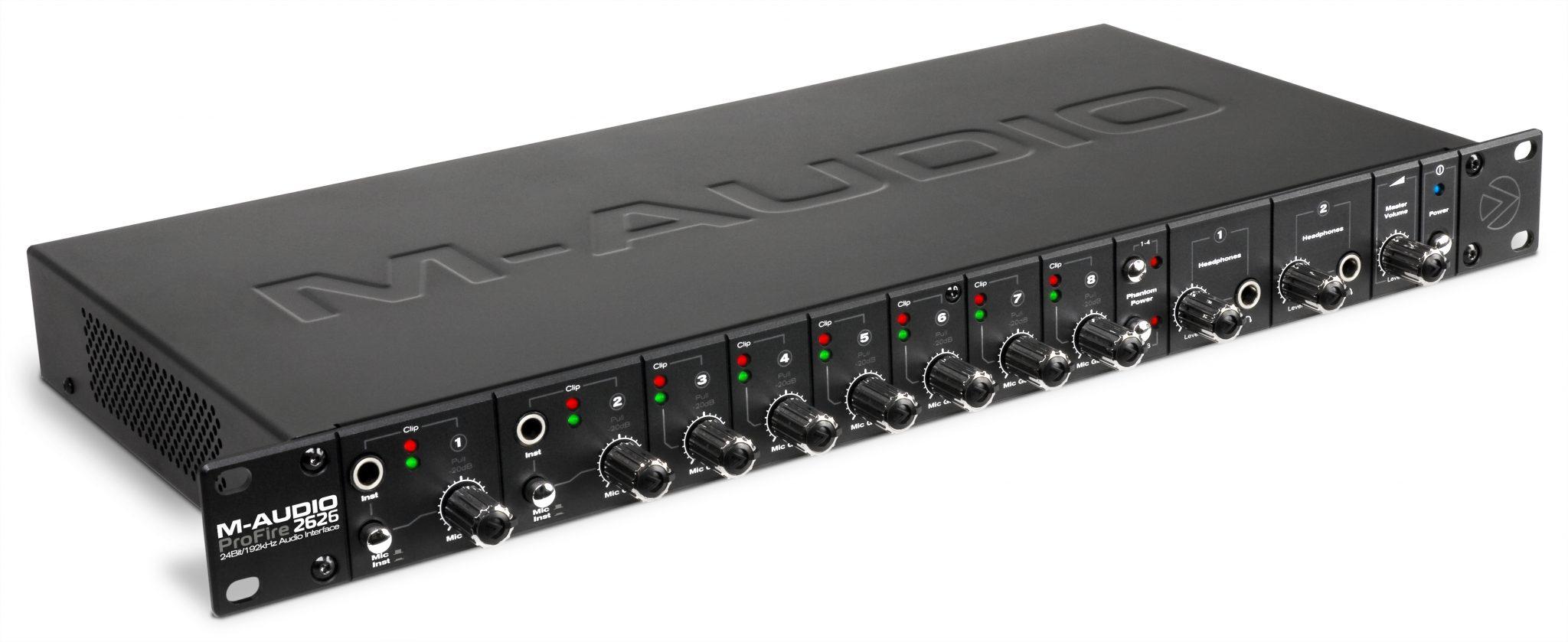 m-audio profire 2626 yosemite drivers